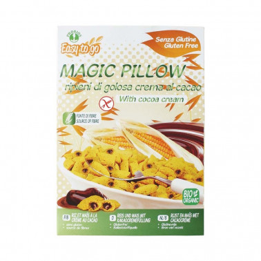 Magic Pillow - Cereali Biologici ripieni crema al cacao