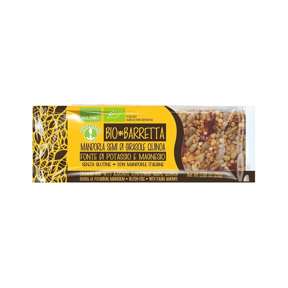 Barretta Mandorla, Semi di Girasole, Quinoa