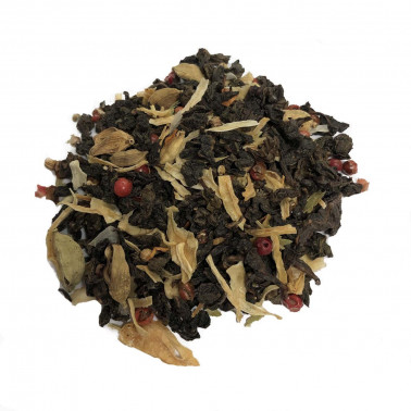 Tè Blu Oolong aromatico e piccante