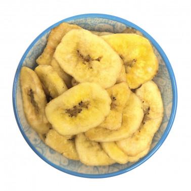 Banana chips disidratate