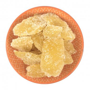 Zenzero disidratato con zucchero cristallizzato