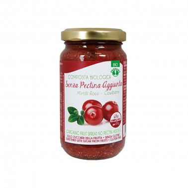 Composta di Mirtilli rossi - Senza pectina aggiunta