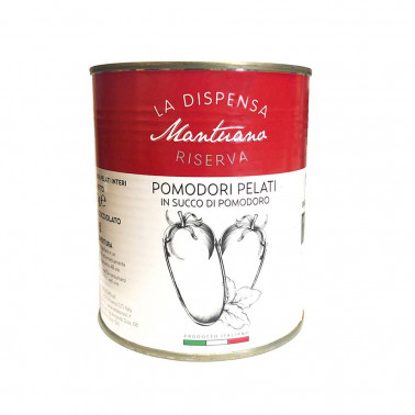 Pomodori pelati in succo di pomodoro 100% Italiani - 800g