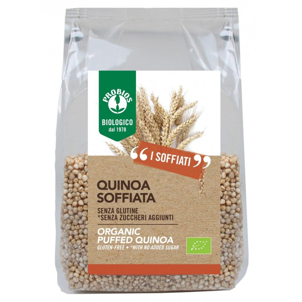 Quinoa soffiata s/glutine - 100g