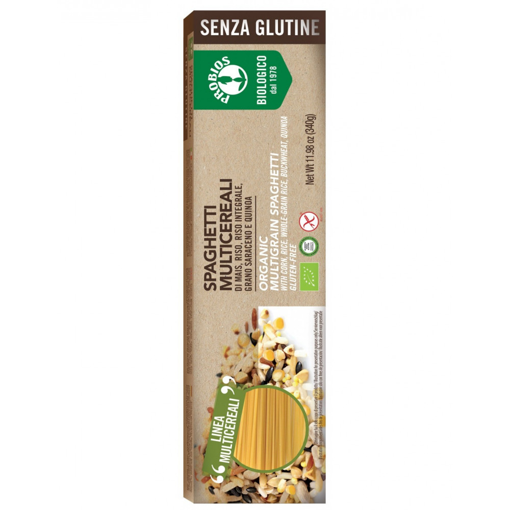 Pasta multicereali - Spaghetti s/Glutine 340g