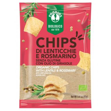 Chips di Lenticchie e Rosmarino