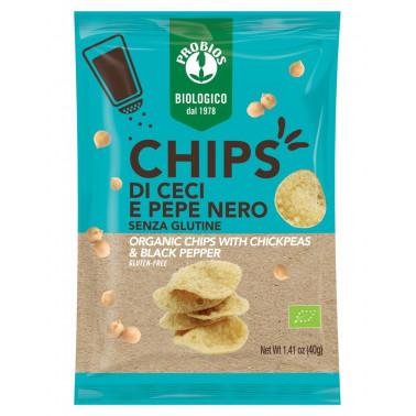Chips di Ceci e Pepe s/Glutine - 40g