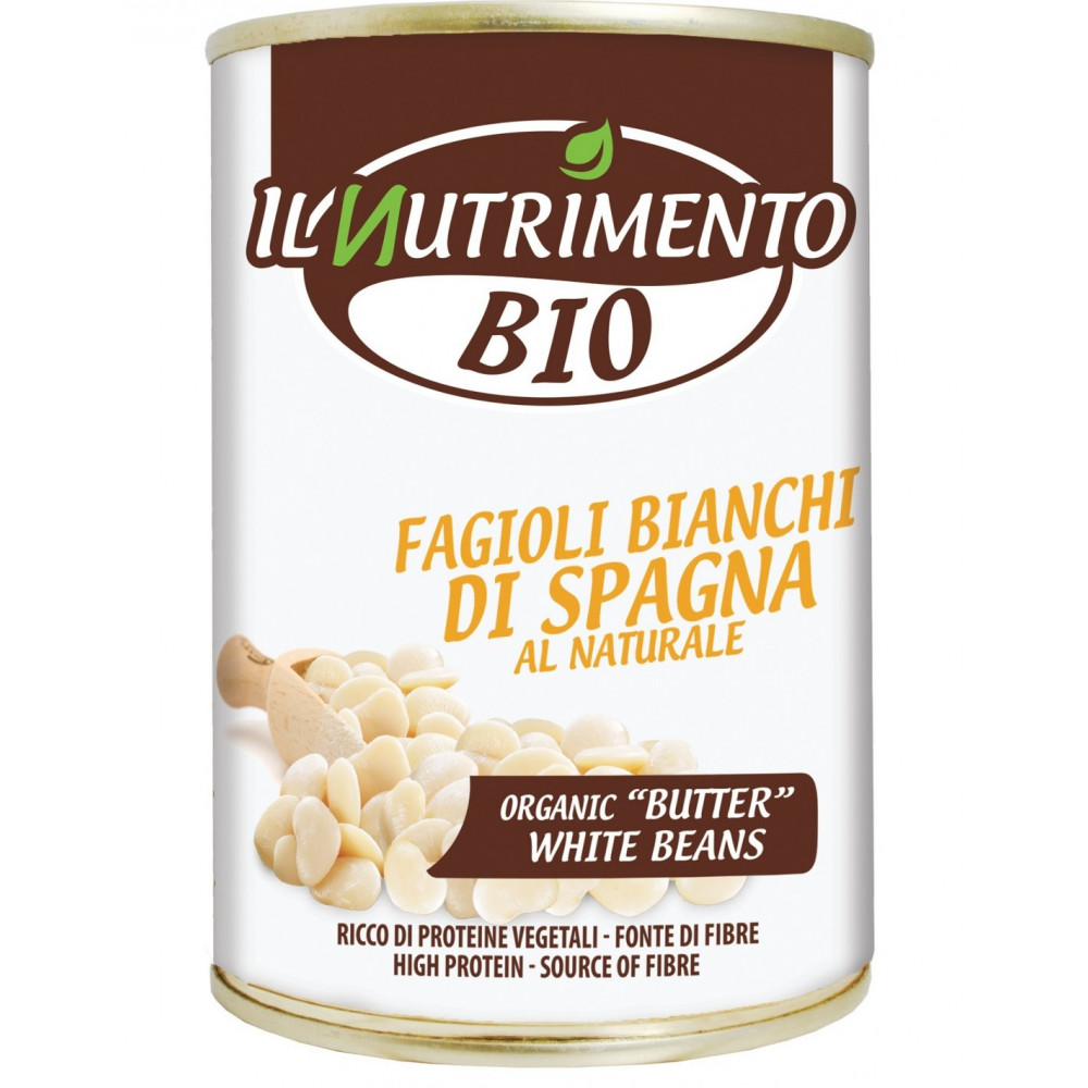Fagioli bianchi Spagna naturali - 400G
