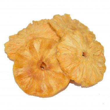 Ananas disidratata senza zucchero