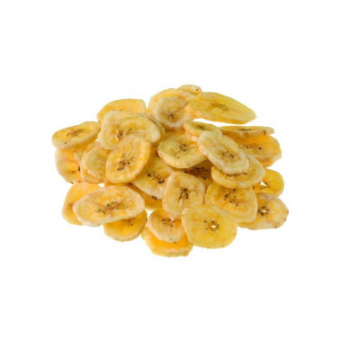 Banana chips disidratate