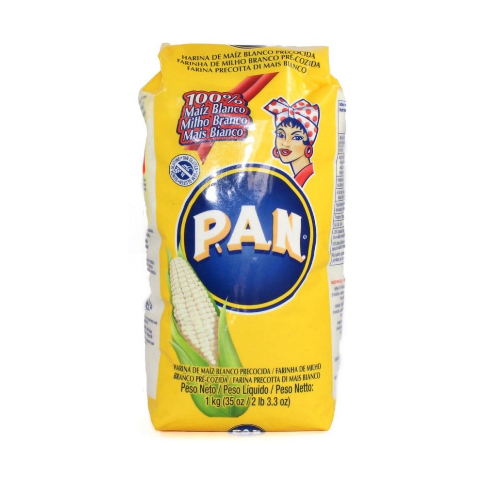 Farina Pan di mais bianco